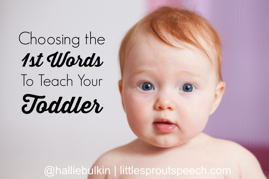 Teaching Early Words  To A Language Delayed Toddler