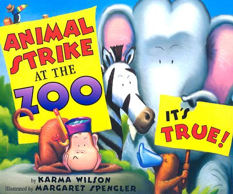 Animal Strike At The Zoo Book