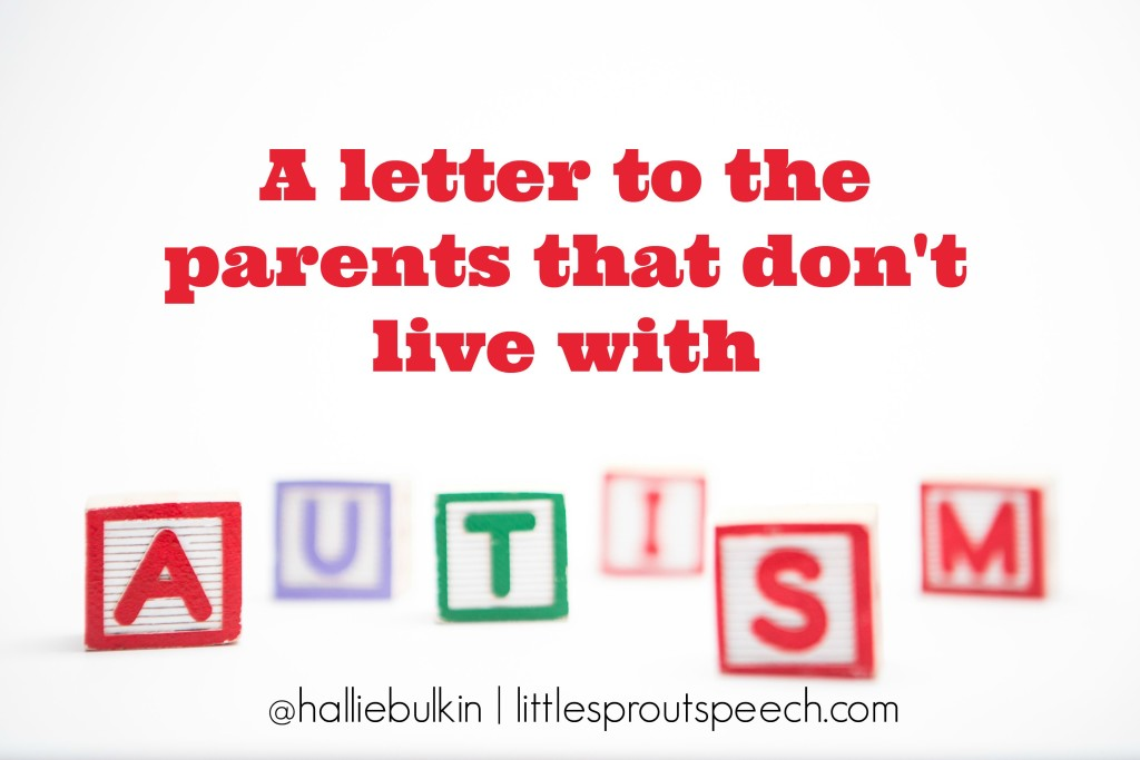 Autism spelled out in letter blocks on white background with copy space